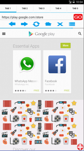 AD Browser screenshots 1