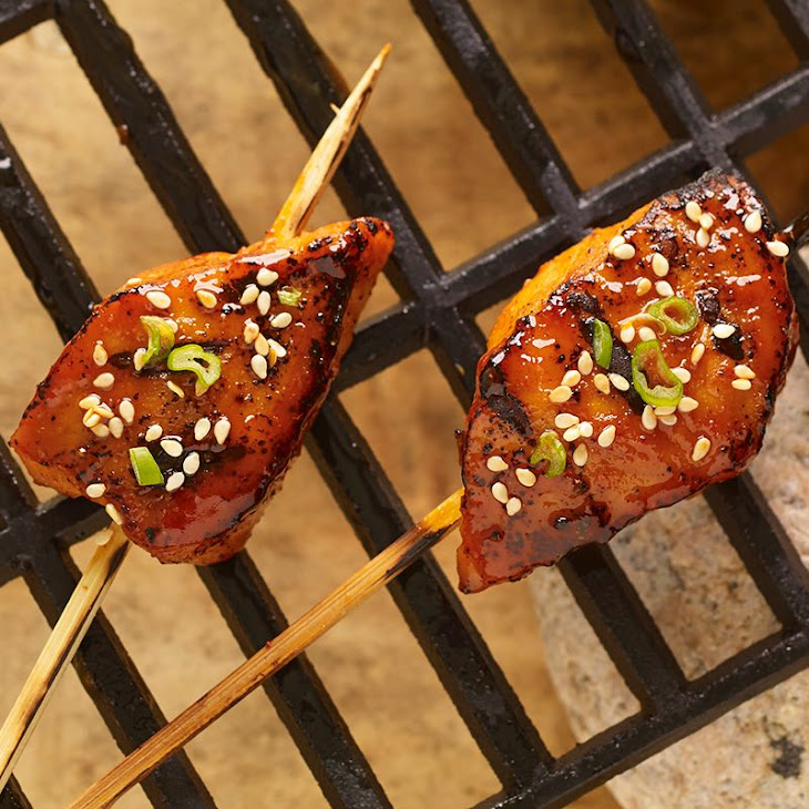 Korean BBQ Pork Skewers