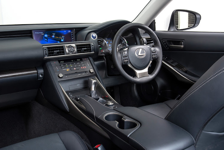Leather-lined interior doesn't skimp on luxuries, and the ride quality is plush. Picture: SUPPLIED