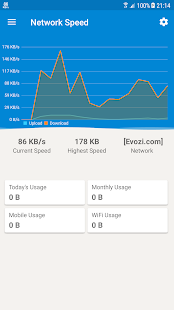 Network Speed - Monitoring (Unreleased)- screenshot thumbnail