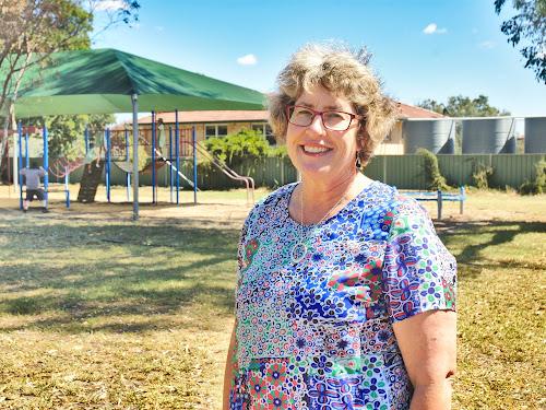 New Fairfax Public School principal Diana Burtenshaw is enjoying the job.