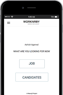 WORKNRBY Job Search- screenshot thumbnail