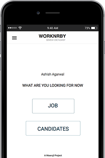 WORKNRBY Job Search- screenshot