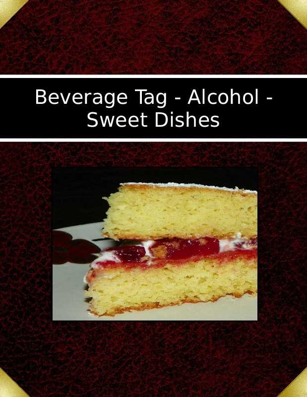 Beverage Tag - Alcohol - Sweet Dishes