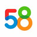 58同城-招聘找工作,租房,二手房,二手车 icon