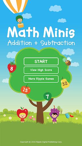 Math Minis – 足し算と引き算