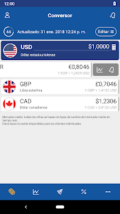 XE Currency - Transferencias de dinero y conversor Screenshot