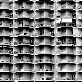 by Luca Piccini Basile - Black & White Buildings & Architecture
