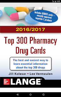 Top 300 Drug Cards 2016/2017- screenshot thumbnail