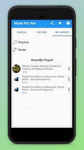 Music For You – Stream & Download Free Songs App Download For Android 5