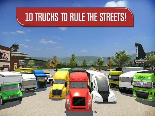 Delivery Truck Driver Simulator  screenshots 15