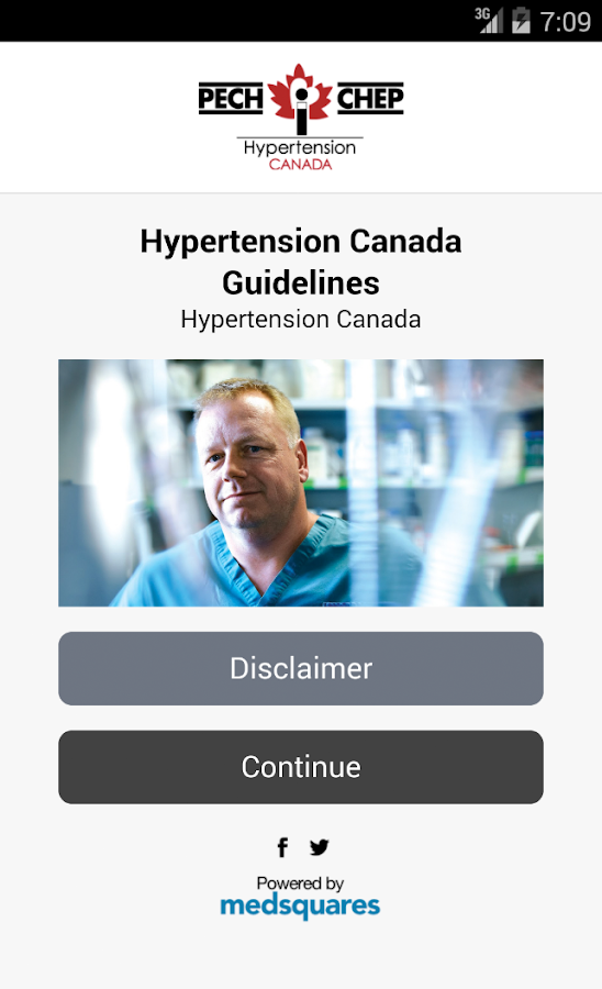 Hypertension Canada Guidelines- screenshot
