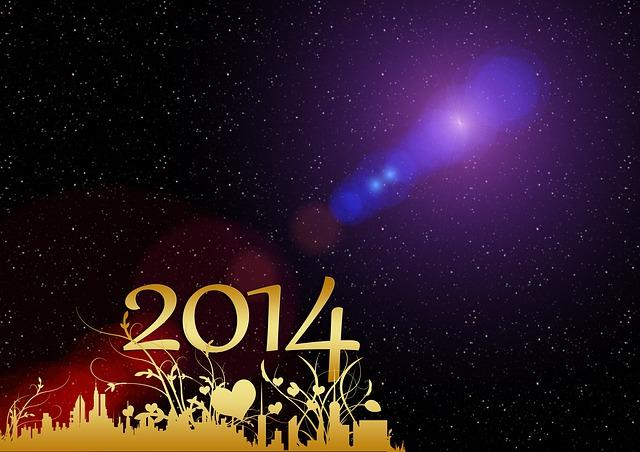 Año Nuevo 2014 moderno