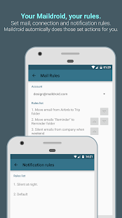 MailDroid - Email Application Screenshot