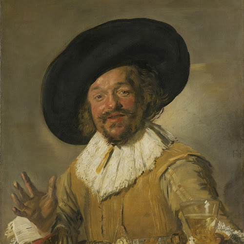The Merry Drinker - Rijksmuseum Amsterdam