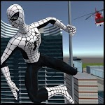 Flying Spider Hero 3D: New Neighbor Survival Game Icon