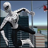 Flying Spider Hero 3D: New Neighbor Survival Game