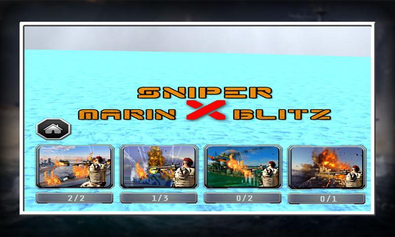 android Sniper X Marine Blitz Screenshot 3