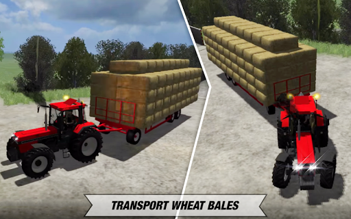 Tractor Cargo Transport: Farming Simulator apkpoly screenshots 8