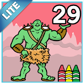Coloring Book 29 Lite: Myths