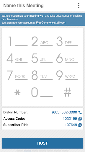 Free Conference Call 1.5.20.0 screenshots 3
