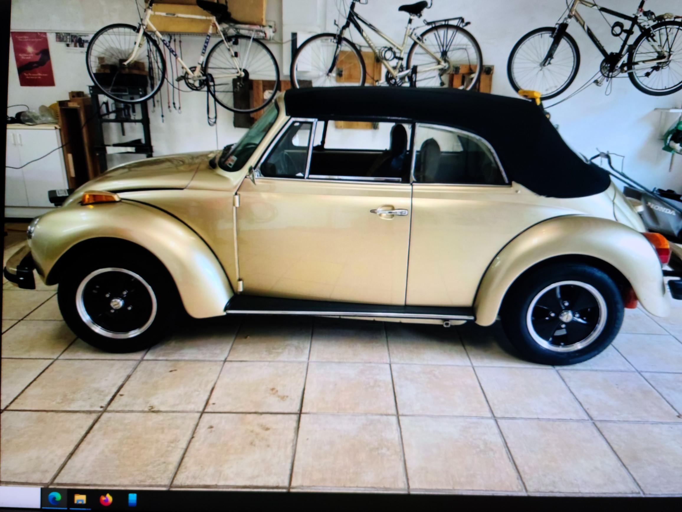Volkswagen  Super Beetle Convertible Hire Hollywood, Florida