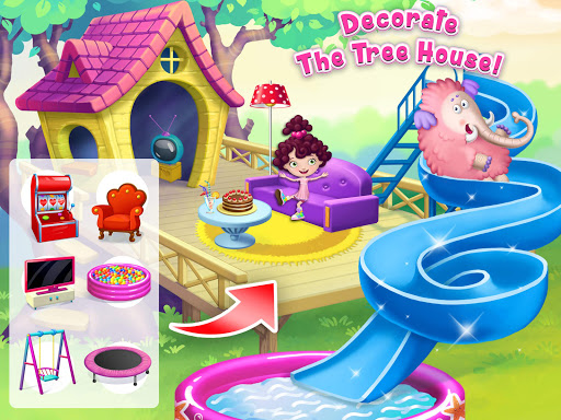 Miau2019s Secret Pet - Fluffy Pink Elephant Care 1.0.109 screenshots 15