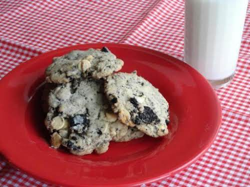 "Oreo Cookies & Cream Cookies ""Love this recipe! It is sinfully good...."