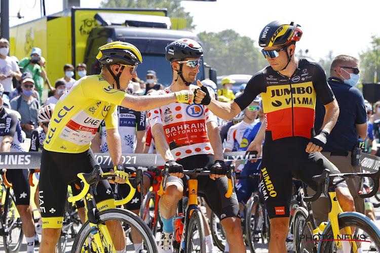 Wout van Aert doet het op alle fronten en spurt naar derde ritzege in Parijs, Pogačar wint Tour de France