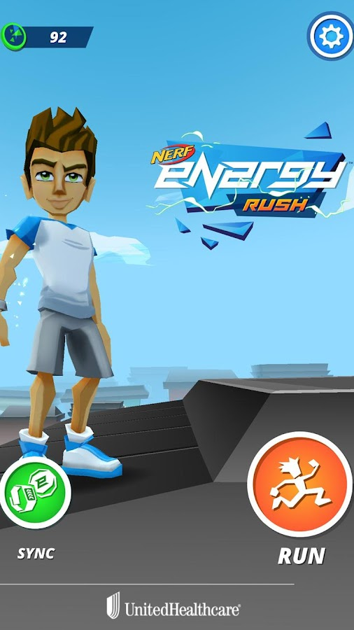 Nerf Energy Rush- screenshot