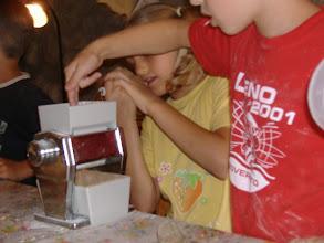 Photo: fiocchi d'avena con fioccatrice a mano
