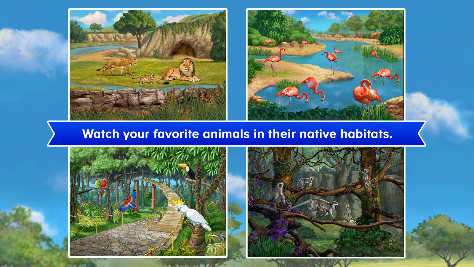 ABCmouse Zoo- screenshot
