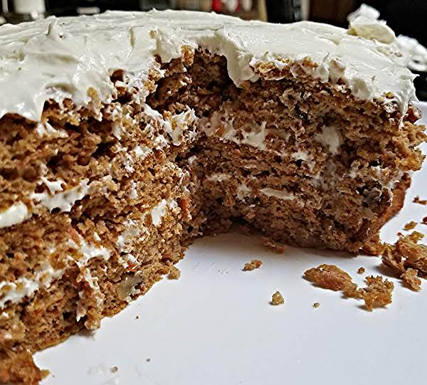 Lower Carb Carrot Cake & Cream Cheese Frstng Recipe