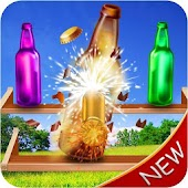 Real Bottle Shooting Game Mania Android APK Download Free By PinPrick Gamers