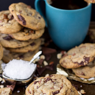 Brown Butter Hazelnut Chocolate Cookies