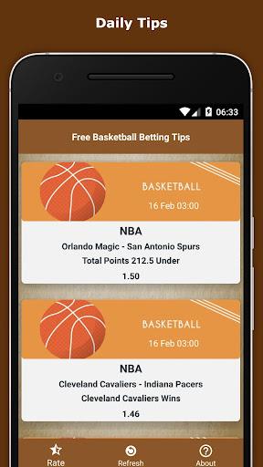 Free Basketball Betting Tips 1.5 screenshots 1