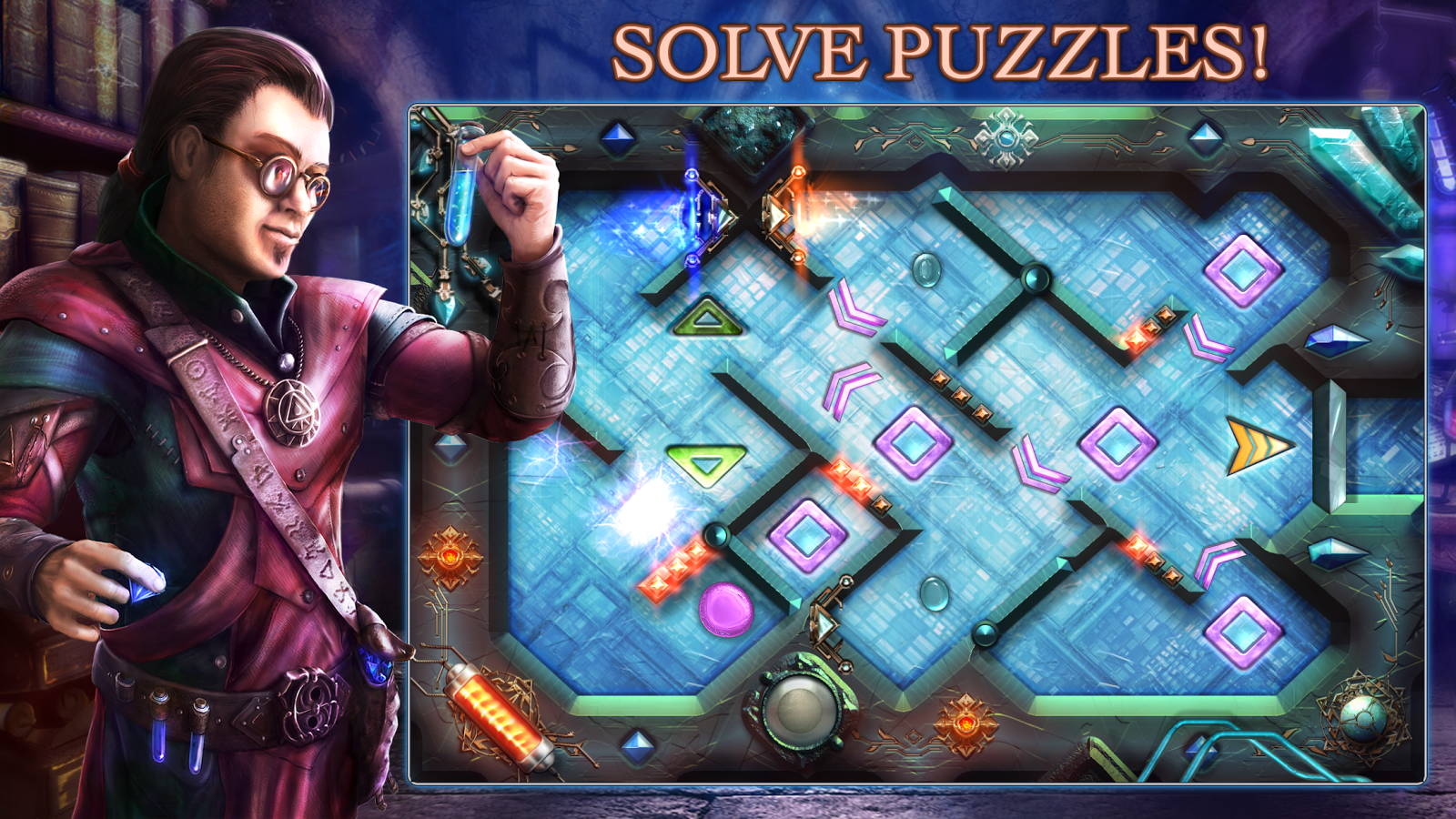 Alchemic Maze- screenshot