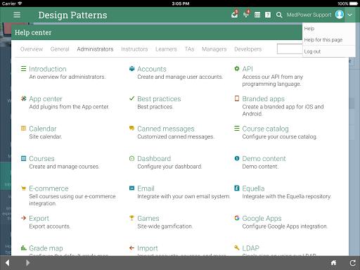 New London Hosp. eLearning  screenshots 10