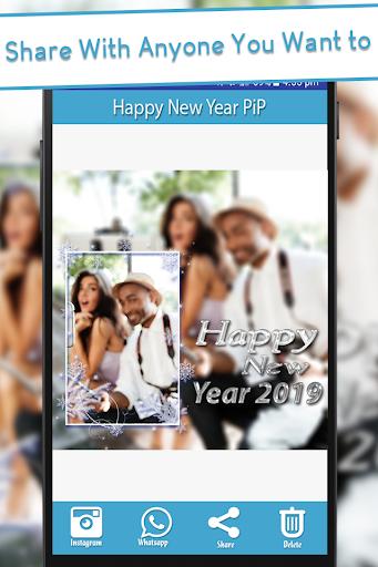 Happy New Year 2019 - PIPPhotoFrames 1.0 screenshots 7