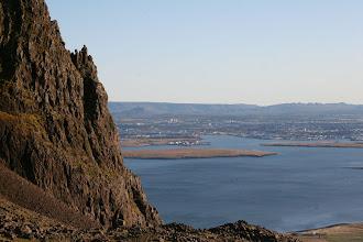 Photo: Hérna sést neðrihlutin af Hnetubrjótinum sem við fórum.