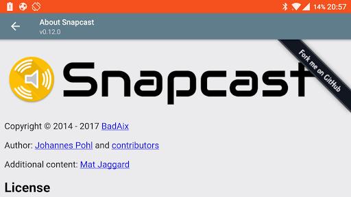 SnapCast 0.14.0.14 screenshots 2