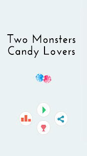 Two Monsters : Candy Lovers Screenshot