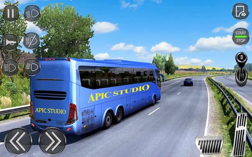 City Coach Bus Driving Sim : Bus Games 2020 screenshots 6