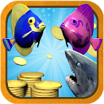 Shark Trouble Icon