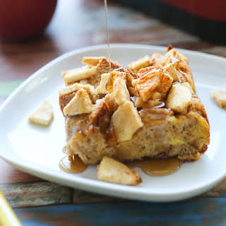 Apple French Toast Bake (overnight or make and bake!).