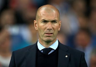 Zidane agacé suite aux questions autour d'un duel Courtois-Navas