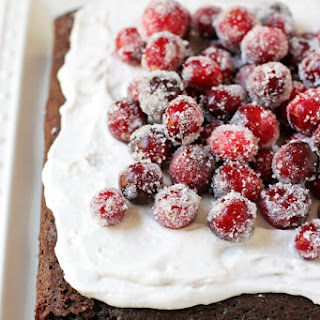 Chocolate Almond Olive Oil Cake.