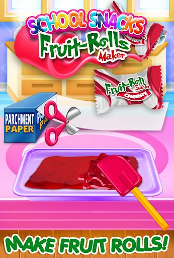 Fruit Roll Candy Maker - School Snacks Sim FREE 1.0 screenshots 6