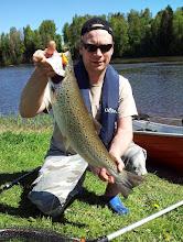 Photo: Meritaimen 2,8kg kokemäenjoki 27.5.2012