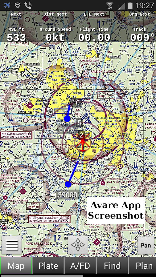 ADSB Receiver- screenshot